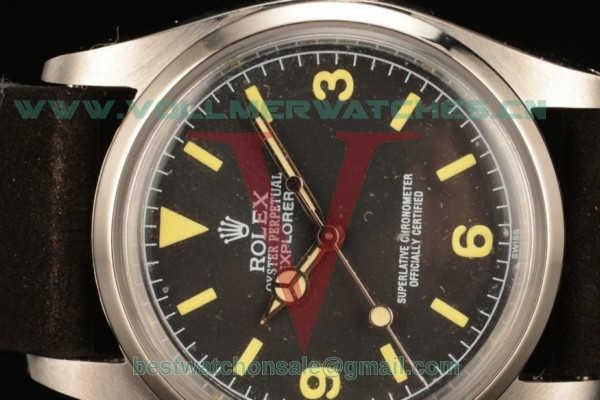 Rolex Explorer 2813 Auto Black Dial with Steel Case 14250 bkl