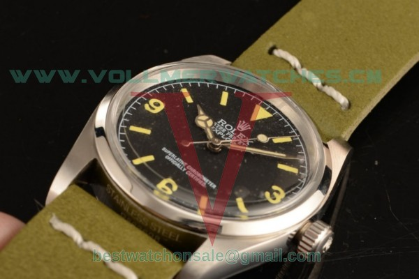 Rolex Explorer 2813 Auto Black Dial with Steel Case 14250 gl