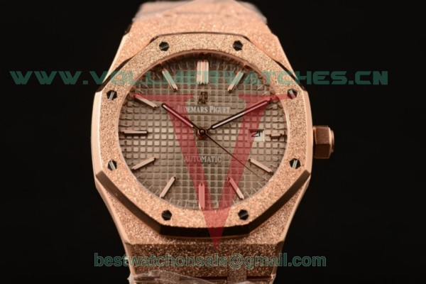 Audemars Piguet Royal Oak 41MM 3120 Auto Gray Dial with Rose Gold Case 15400OR.OO.1220OR.02D (EF)