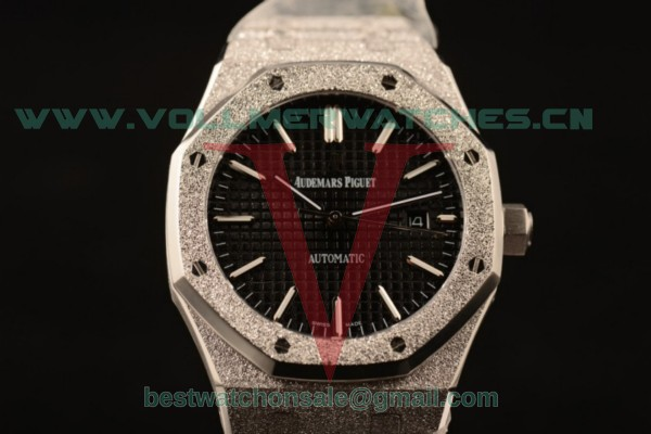 Audemars Piguet Royal Oak 41MM 3120 Auto Black Dial with Steel Case 15410BC.GG.1224BC.01blk (EF)