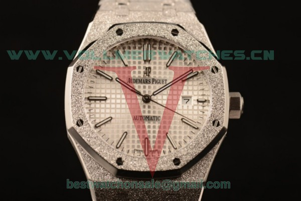Audemars Piguet Royal Oak 3120 Auto White Dial with Steel Case 67653OR.GG.1263OR.01 (EF)