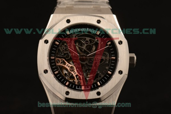 Audemars Piguet Royal Oak Skeleton Asia Auto Skeleton Dial with Steel Case 15305ST.OO.1220ST.01