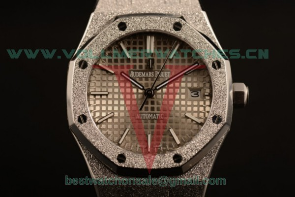 Audemars Piguet Royal Oak 3120 Auto Gray Dial with Steel Case 67653OR.GG.1263OR.01gre (EF)