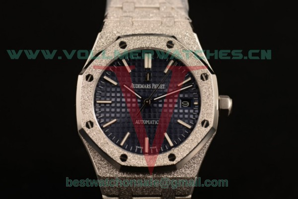 Audemars Piguet Royal Oak 3120 Auto Blue Dial with Steel Case 67653OR.GG.1263OR.01gre (EF)