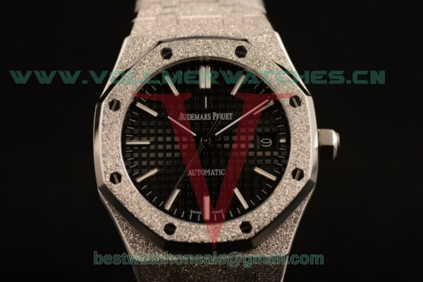 Audemars Piguet Royal Oak 3120 Auto Black Dial with Steel Case 67653OR.GG.1263OR.01gre (EF)