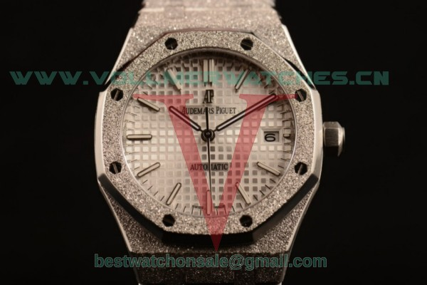 Audemars Piguet Royal Oak 3120 Auto White Dial with Steel Case 67653OR.GG.1263OR.01gre (EF)