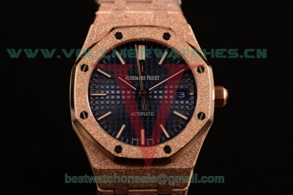 Audemars Piguet Royal Oak 41MM 3120 Auto Blue Dail with Rose Gold Case 15202OR.OO.1240OR.01D (EF)