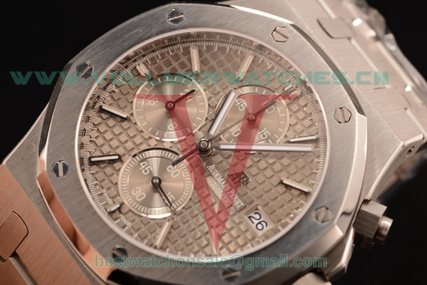 Audemars Piguet Royal Oak Chronograph Miyota OS10 Quartz Grey Dial with Steel Case 26320ST.OO.1220ST.03L