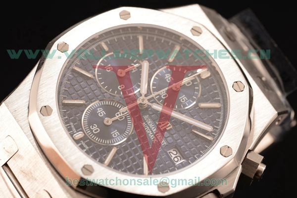 Audemars Piguet Royal Oak Chronograph Miyota OS10 Quartz Blue Dial with Steel Case 26320ST.OO.1220ST.022L