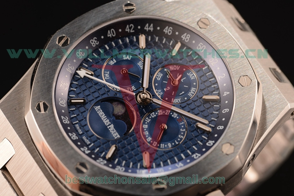Audemars Piguet Royal Oak Perpetual Calendar Asia Auto White Dial with Steel Case 26574ST.OO.1220ST.02