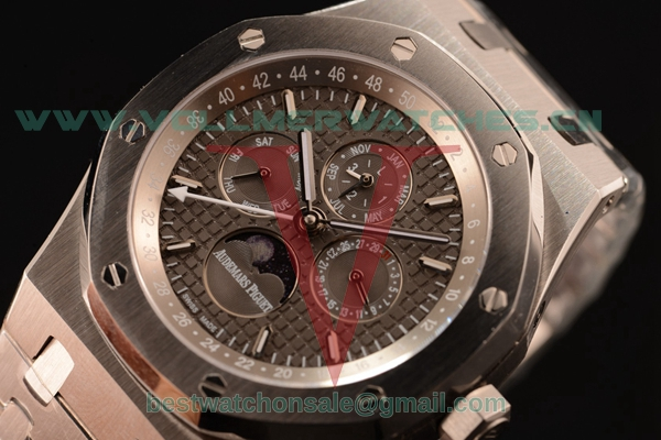 Audemars Piguet Royal Oak Perpetual Calendar Asia Auto Grey Dial with Steel Case 26574ST.OO.1220ST.01Gre