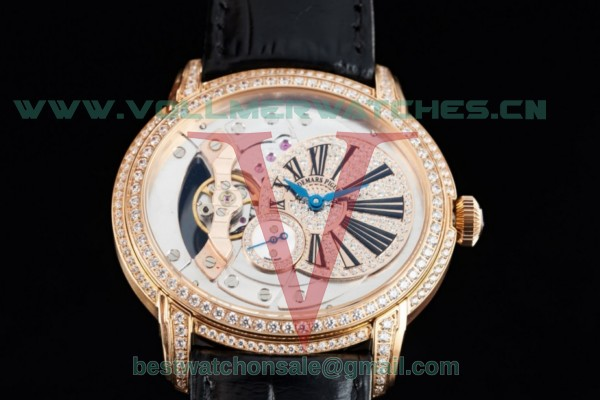 Audemars Piguet Millenary Miyota 9015 Auto White Dial with Rose Gold Case 26354ORD
