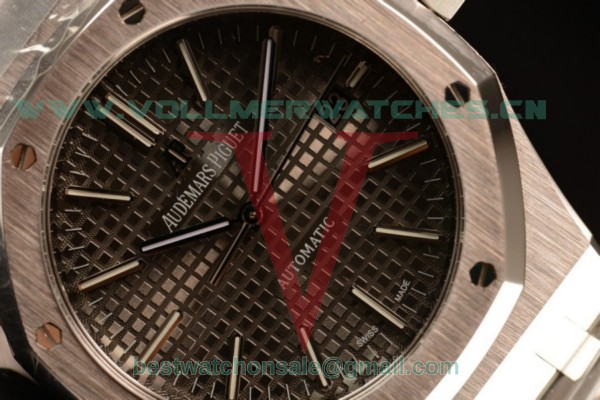 Audemars Piguet Royal Oak 41 MM Clone AP Calibre 3120 Auto Grey Dial With Steel Case 15400ST.OO.1220ST.04(JH)
