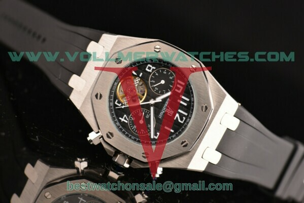 Audemars Piguet Royal Oak Tourbillon Auto Black Dial with Steel Case 25977ST.OO.D002CR.01