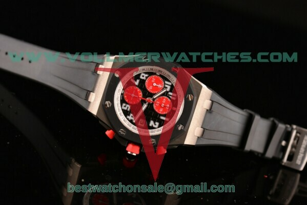 Audemars Piguet Royal Oak Offshore 7750 Auto Black Dial with Titanium Case 2009 26184ST.OO.D003CU.01(NOOB)
