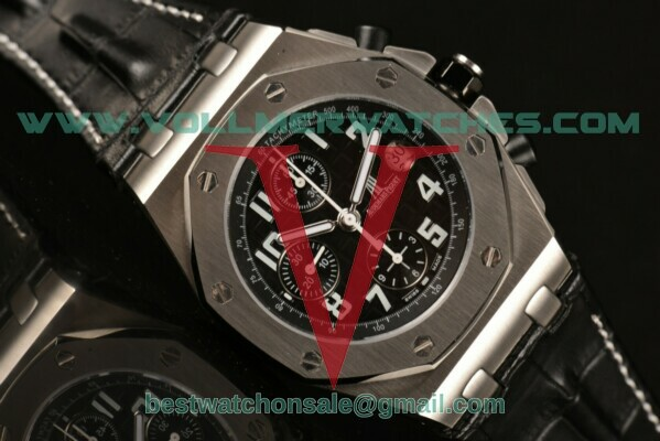Audemars Piguet Royal Oak Offshore Chrono 7750 Auto Black Dial with Steel Case 26020ST.OO.D001IN.01.A