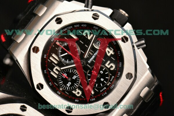 Audemars Piguet Royal Oak Offshore Black Themes 2014 JF Chrono 7750 Auto Black Dial with Steel Case 26470ST.OO.A101CR.01