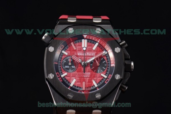 Audemars Piguet Royal Oak Offshore Diver Chrono Miyota OS20 Quartz Red Dial with PVD Case 26703ST.OO.A076CA.01 (EF)