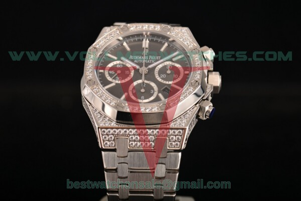 Audemars Piguet Royal Oak Chrono 7790 Auto Grey Dial with Steel Case 26320ST.OO.1220ST.011D (EF)