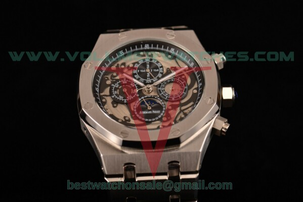 Audemars Piguet Royal Oak Offshore Auto Skeleton Dial with Steel Case 26571IO.OO.A002CA.05