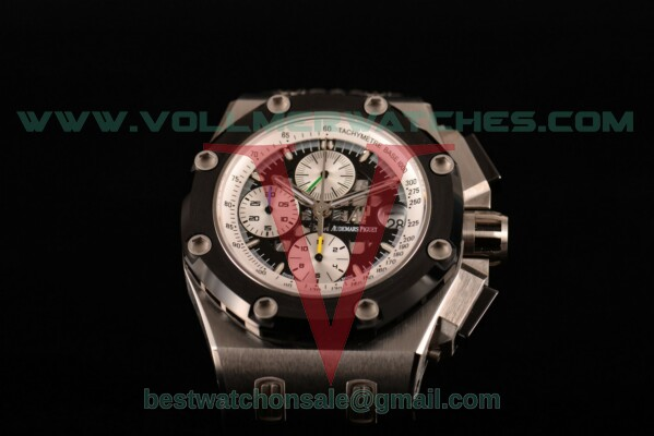 Audemars Piguet Rubens Barrichello Chrono 7750 Auto Skeleton Dial with Steel Case 26078IO.OO.D001VS.01 (JF)