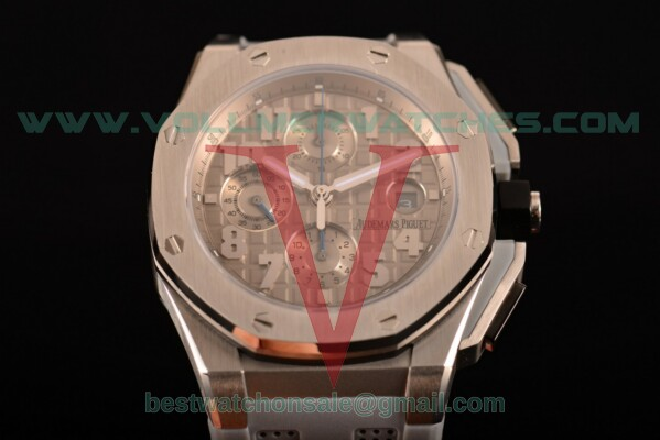 Audemars Piguet Royal Oak Offshore Clone AP Calibre 3126 Auto Grey Dial with Steel Case 26210OI.OO.A109CR.11 (EF)