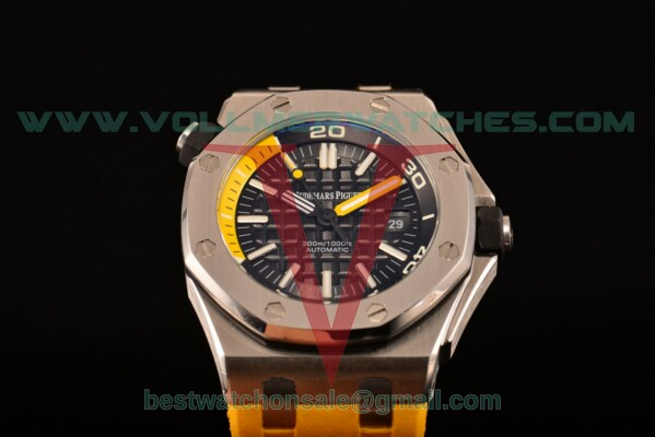 Audemars Piguet Royal Oak Offshore Diver Auto Black Dial with Steel Case 15710ST.OO.A002CA.03 (EF)