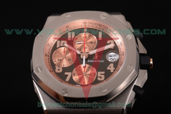 "Audemars Piguet Royal Oak Offshore ""Pride of Indonesia"" Limited Edition Chrono 7750 Auto Black Dial with Titanium Case 26179IR.OO.A005CR.01"