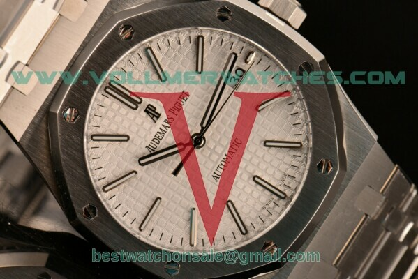 Audemars Piguet Royal Oak Asia ST Automatic White Dial With Steel Case 15450ST.OO.1256ST.01