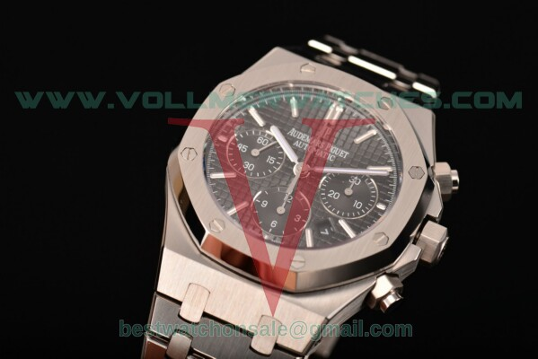 Audemars Piguet Royal Oak Chronograph 41mm 7750 Auto Black Dial with Steel Case 26320ST.OO.1220ST.01(EF)