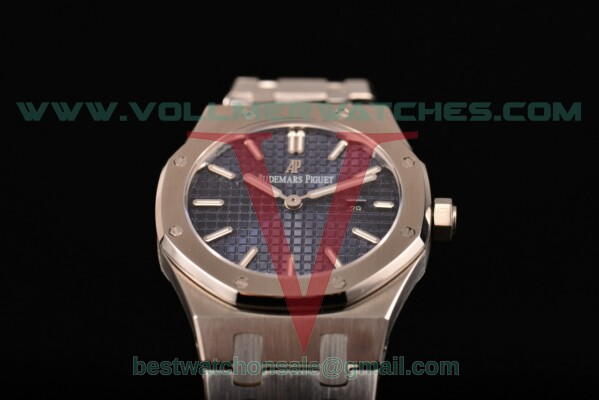 Audemars Piguet Royal Oak Miyota Quartz Blue Dial with Steel Case 15400ST.OO.1220ST.03 (EF)