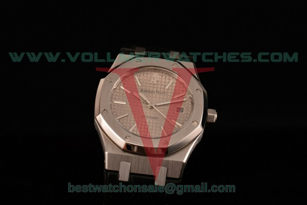 Audemars Piguet Royal Oak 2824 Auto Grey Textured Dial with Steel Case 15400OR.OO.D088CR.02 (BP)