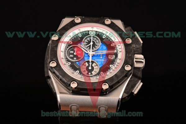 Audemars Piguet Royal Oak Offshore Chrono 7750 Auto Blue Dial with Steel Case 26290PO.OO.A001VE.01 (JF)