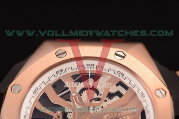 Audemars Piguet Royal Oak Concept Laptimer Michael Schumacher Limited Edition Quartz Skeleton Dial with Rose Gold Case - 26221FT.OO.D002CA.06P