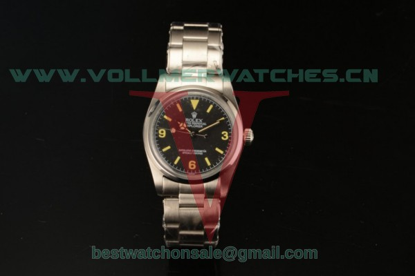 Rolex Explorer Asia Auto Black Dial with Steel Case 214270 bsao