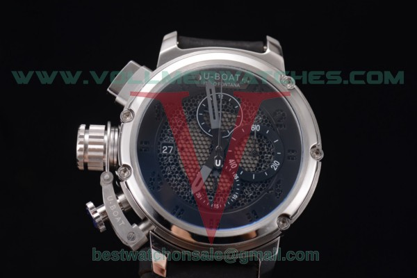 U-Boat Chimera Skeleton Chrono Miyota OS10 Quartz Skeleton Dial with Steel Case 53373