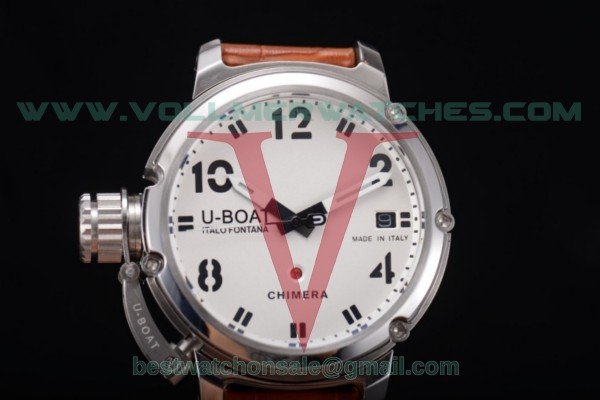 U-Boat Chimera Automatic ST25 Auto White Dial with Steel Case 7228