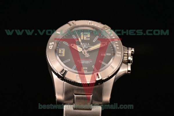 Ball Engineer Hydrocarbon Miyota 8205 Auto Black Dial with Steel Case DM2036B-SCAJ-BKL (YF)