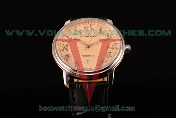 Blancpain Le Brassus 2824 Auto Beige Dial With Steel Case 2322-3632-50B