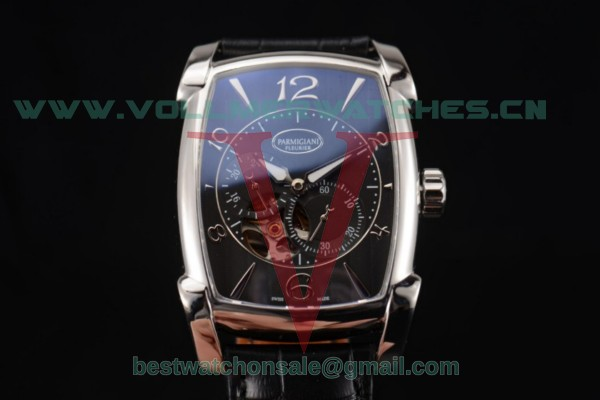 Parmigiani Kalpa Miyota 9015 Auto Black Dial With Steel Case PFC101-0001100-HA2442(AAAF)