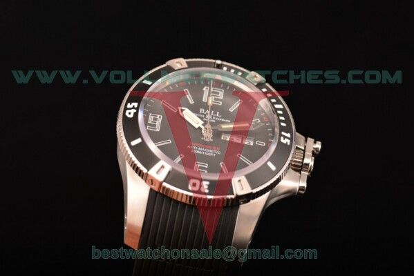 Ball Engineer Hydrocarbon Miyota 8205 Auto Black Dial with Steel Case DM2036A-SCAJ-BBRBK