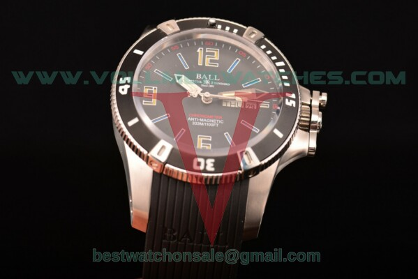 Ball Engineer Hydrocarbon Miyota 8205 Auto Black Dial with Steel Case DM2036A-SCAJ-BBRBKL
