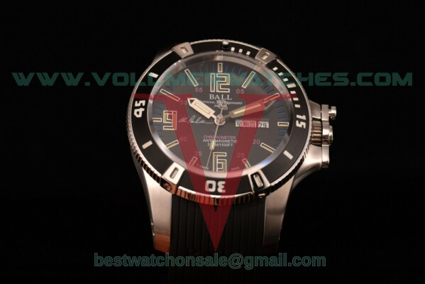 Ball Engineer Hydrocarbon Miyota 8205 Auto Black Dial with Steel Case DM2036A-S5CA-BBRBKL