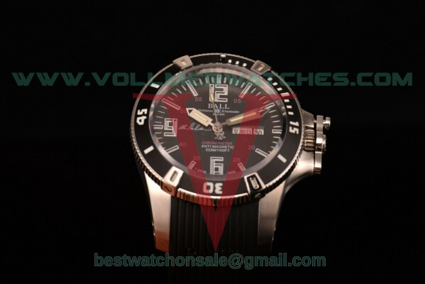 Ball Engineer Hydrocarbon Miyota 8205 Auto Black Dial with Steel Case DM2036A-S5CA-BBRBKW