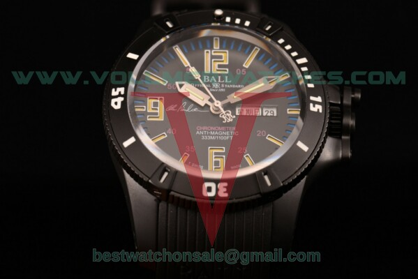 Ball Engineer Hydrocarbon Miyota 8205 Auto Black Dial with PVD Case DM2036A-S5CA-PRBYL