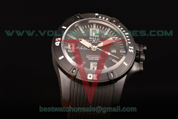 Ball Engineer Hydrocarbon Miyota 8215 Auto Black Dial with PVD Case DM2036B-S5CA-PRBRW