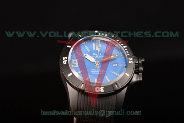 Ball Engineer Hydrocarbon Miyota 8215 Auto Blue Dial with PVD Case DM2036B-SCAJ-PRBL