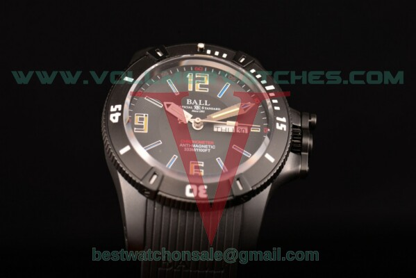 Ball Engineer Hydrocarbon Miyota 8205 Auto Black Dial with PVD Case DM2036A-SCAJ-PRBKL