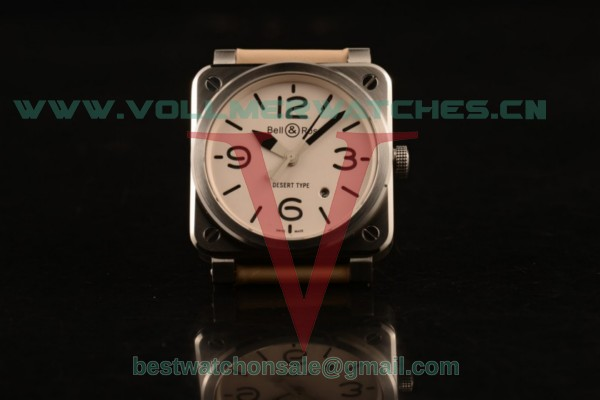 Bell&Ross BR 03-92 S Aviation Type 9015 Auto White Dial with Steel Case BR 03-92 S