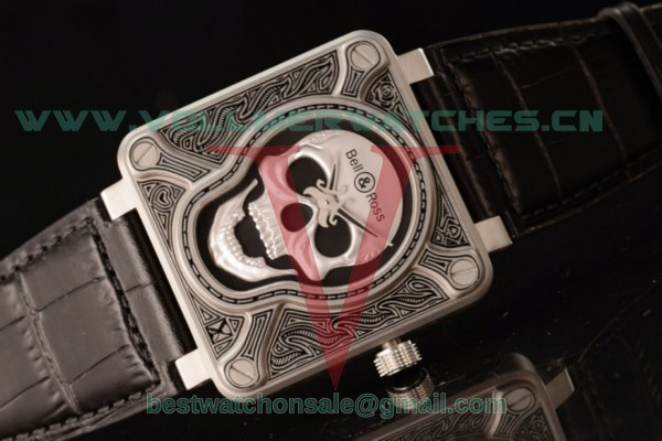 Bell & Ross BR 01-92 Asia Auto Skull Dial with Steel BR 01-92